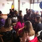 Întâlnire cu studenţi de la Facultatea de Litere a Universităţii din Bucureşti, martie 2013