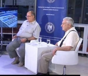 """Cea de-a şasea emisiune din cadrul dezbaterii """"Dreptul la memorie. Muzeul Comunismului din România"""", august 2014"""