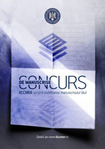 Concurs de manuscrise IICCMER