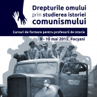 Cursuri de formare pentru profesori, Focşani, mai 2015