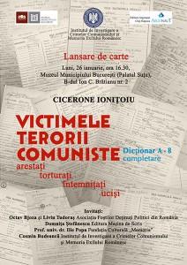 Cicerone Ionițoiu, Victimele terorii comuniste