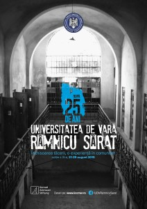 Universitatea de Vară Râmnicu Sărat, august 2015