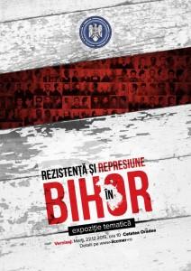 """Expoziţia """"Rezistenţă şi represiune în Bihor"""", decembrie 2015, Oradea"""
