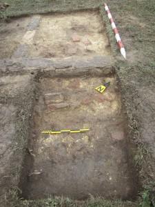 Cercetări arheologice în fosta colonie de muncă forţată din perioada comunistă de la Galeşu, octombrie 2015