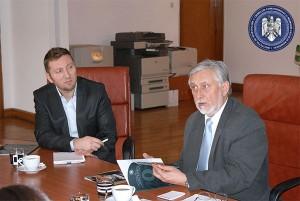 Vizita Excelenţei Sale Domnului Vladimir Jarmolenko, Ambasadorul Republicii Lituania la IICCMER