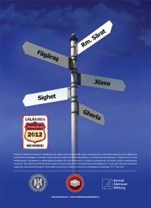 Prima ediţie a Călătoriei memoriei (14-17 mai 2012)