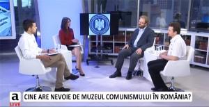 Prima întâlnire din cadrul dezbaterii Dreptul la memorie. Muzeul Comunismului din România, la Adevărul LIVE, iulie 2014