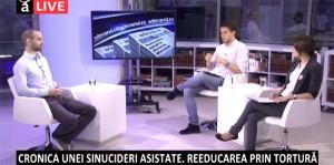"""Cea de-a 13-a emisiune din cadrul dezbaterii """"Dreptul la memorie. Muzeul Comunismului din România"""", octombrie 2014"""