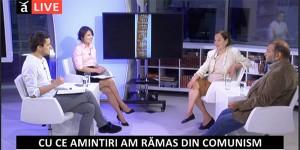 """Cea de-a 12-a emisiune din cadrul dezbaterii """"Dreptul la memorie. Muzeul Comunismului din România"""", septembrie 2014"""