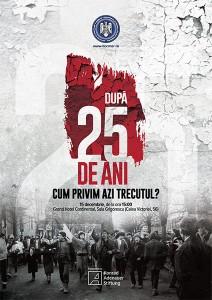 """Dezbaterea """"După 25 de ani. Cum privim azi trecutul?"""", decembrie 2014, Bucureşti"""