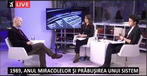 """Cea de-a 16-a emisiune din cadrul dezbaterii """"Dreptul la memorie. Muzeul Comunismului din România"""", octombrie 2014"""