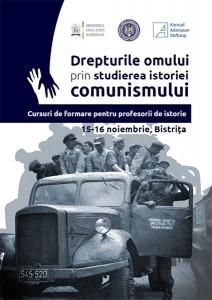 Cursuri de formare pentru profesori, Bistriţa, noiembrie 2014