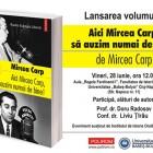 Eveniment dedicat lui Mircea Carp, iunie 2013, Cluj