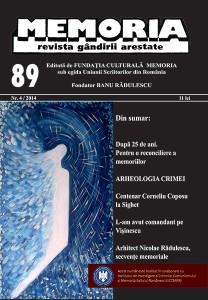 Revista Memoria, 89 (4/2014)