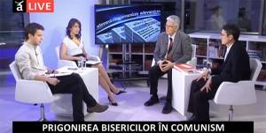 """Cea de-a 14-a emisiune din cadrul dezbaterii """"Dreptul la memorie. Muzeul Comunismului din România"""", octombrie 2014"""