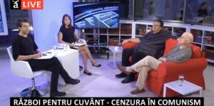 """Cea de-a noua emisiune din cadrul dezbaterii """"Dreptul la memorie. Muzeul Comunismului din România"""", septembrie 2014"""