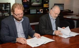 TVR şi IICCMER au semnat un Protocol de colaborare, septembrie 2014