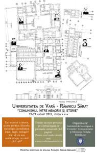 """""""Universitatea de Vară - Râmnicu Sărat"""", Ediţia a V-a, 21-27 august 2011"""