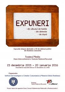 Expoziţia EXPUNERI, TNB, 2015-2016
