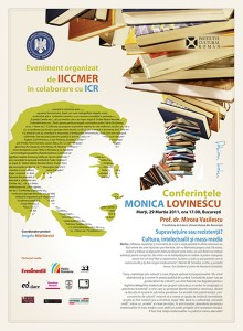 Conferinţele Monica Lovinescu, martie 2011