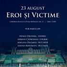 Dezbaterea 23 August – Eroi si Victime, august 2012