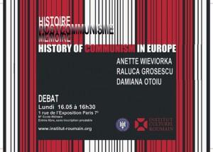History of Communism debate, 2011