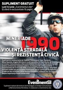 Mineriade 1990: violenţa stradală şi rezistenţa civică, 2010