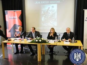 Conferinţă internaţională la Muzeul Casa Terorii din Budapesta, 2011
