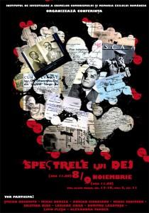 """Conferinţa """"Spectrele lui Dej"""", 2011"""