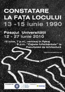 """Expoziţie IICCMER """"13-15 iunie 1990. Constatare la faţa locului"""", 2010"""