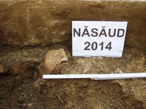 Investigaţii arheologice, Năsăud, aprilie 2014