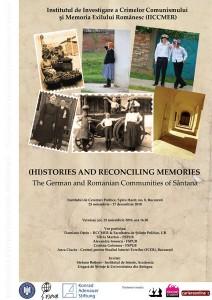 "Expoziţia de fotografie ""(Hi)stories and reconciling memories"", 2010"