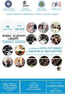 Radio Europa Liberă: o istorie în date, fotografii şi Arhivele Securităţii, 2012
