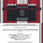 """Lansarea volumului """"Politics of memory in post-communist Europe"""", 2011"""