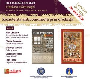 """Dezbaterea """"Rezistenţa anticomunistă prin credinţă"""", 2014"""