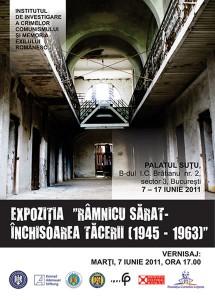 """Vernisajul expoziţiei """"Râmnicu Sărat – Închisoarea Tăcerii (1945-1963)"""", 2011"""