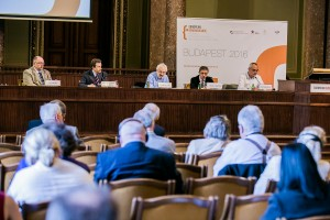 "Simpozionul ""European Remembrance. Symposium of European Institutions dealing with 20th-century History"", mai 2016, Budapesta"
