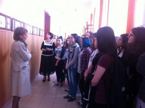 """Expoziţia EXPUNERI, Colegiul Naţional """"Gheorghe Lazăr"""", mai 2016"""