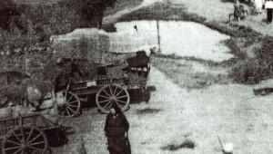 Deportarea în Bărăgan. Foto: Historia