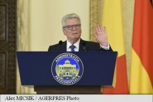 Joachim Gauck. Foto: Agerpres