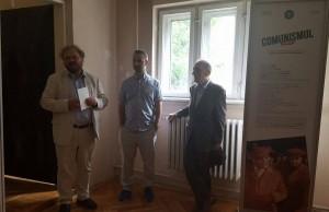 """Deschiderea expoziţiei """"Comunismul în România"""" la Şcoala de vară de la Piteşti, iulie 2016"""