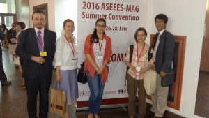 2016 ASEEES-MAG Summer Convention, Lviv, Ucraina, iunie 2016