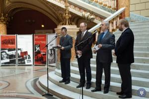 Vernisajul expoziției Comunismul în România, 2 noiembrie 2016