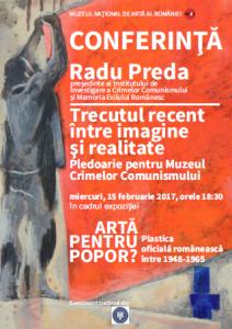 Dezbatere Muzeul Naţional de Artă a României, februarie 2017