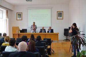 Deschiderea Conferinţei Istoria socială a comunismului românesc, mai 2017