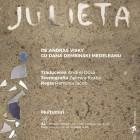 Afisul spectacolului Julieta, octombrie 2017