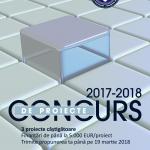 Concurs de proiecte, ediţia 2017-2018